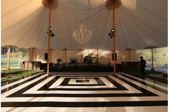 White Amp Black Checkered Event Elements Wichita Ks