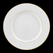 Double Gold Line Dinnerware
