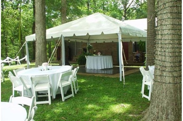 Traditional Frame Tent Event Elements Wichita Ks